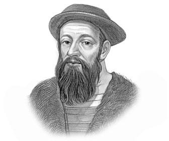 Ferdinand Magellan Portrait